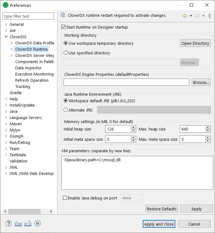 Windows Authentication on Microsoft SQL Server | CloverDX