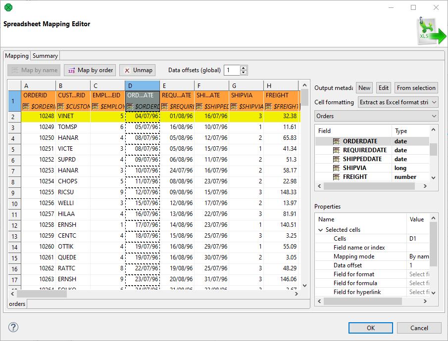 SpreadsheetDataReader | CloverDX 5 3 0 Documentation