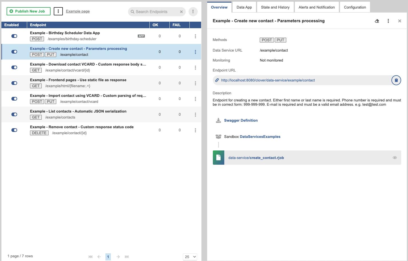 Data Services Overview | CloverDX 5 2 0 Documentation