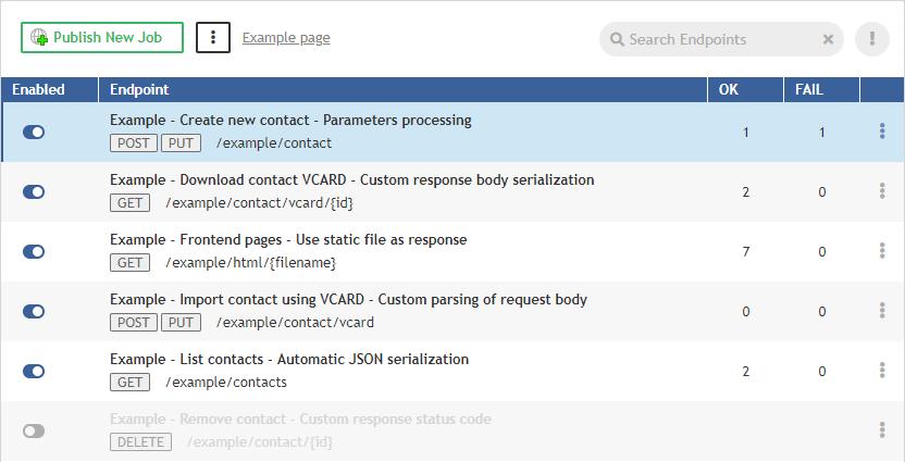 Endpoints | CloverDX 5 3 0 Documentation