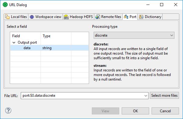 URL File Dialog | CloverDX 5 4 0 Documentation